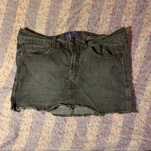 Miley Cyrus & Max Azeris Denim Skirt